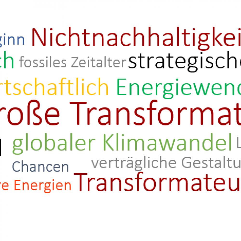 Grundsatzpapier: Die Große Transformation, ein Update zu 2012