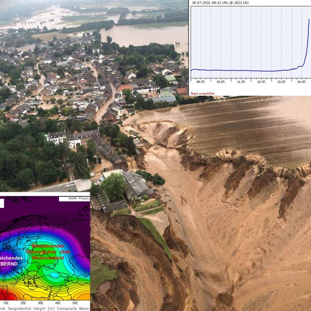 Überflutungen im Westen Deutschlands (Juli 2021)