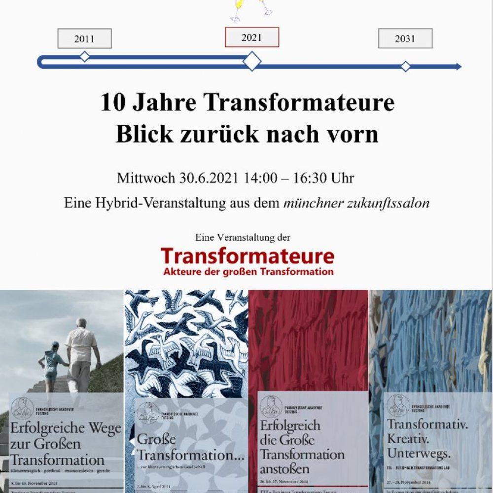 10 Jahre Transformateure – Blick zurück nach vorn
