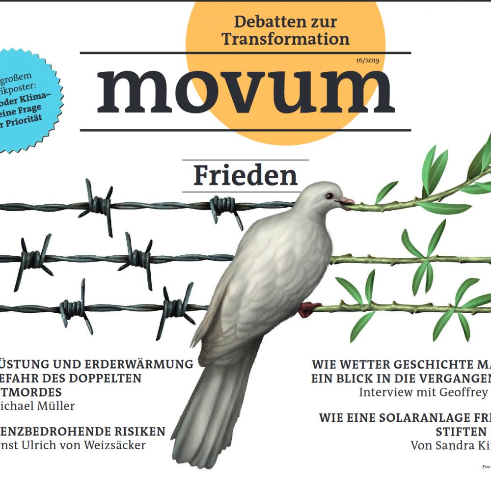 movum – Debatten zur Transformation, Heft 26, Frieden