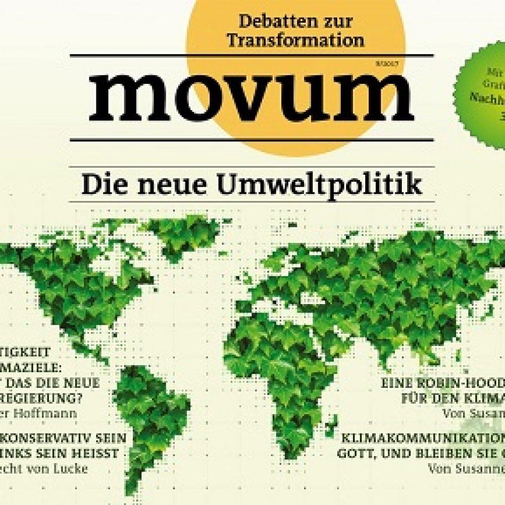 movum – Debatten zur Transformation, Heft 18, Umweltpolitik