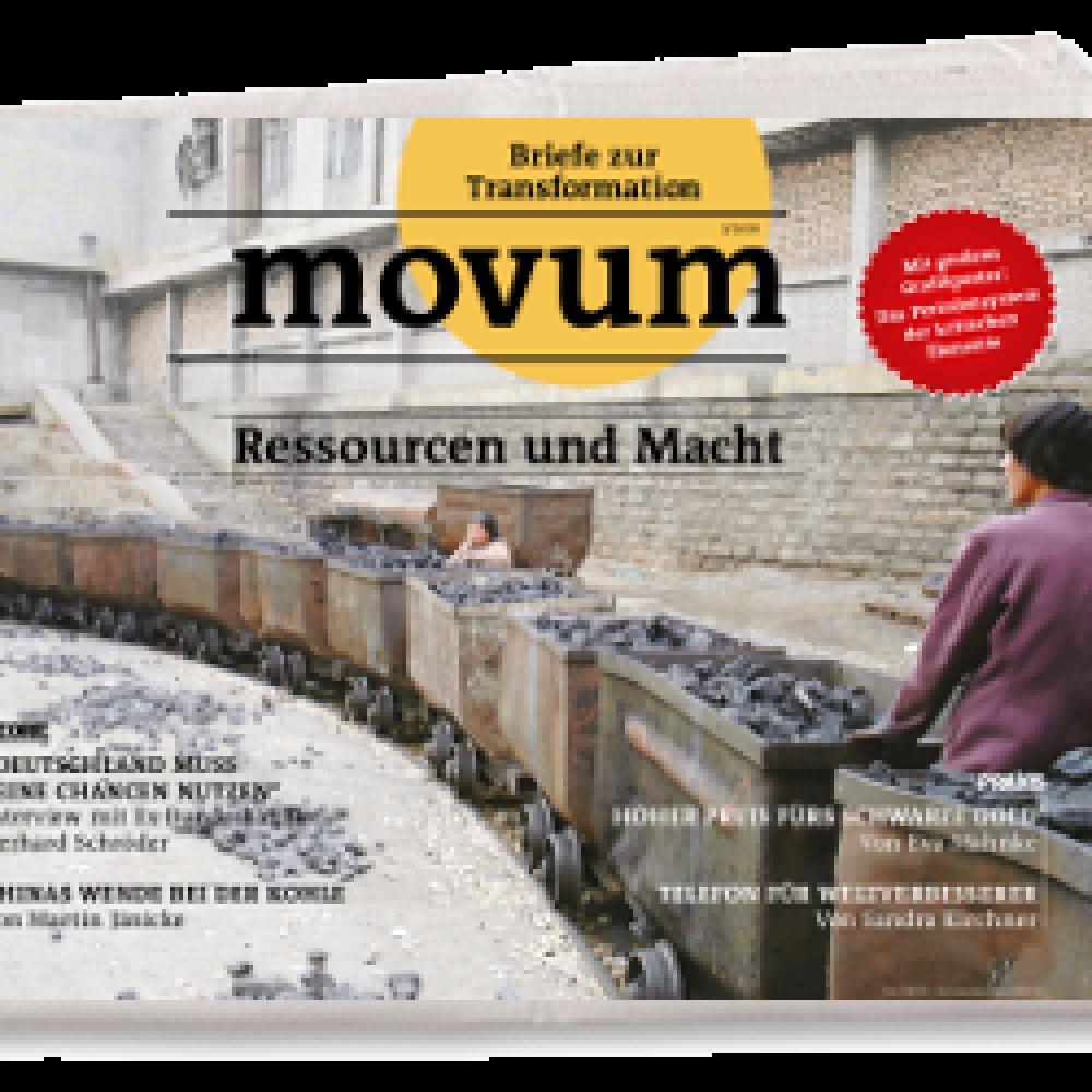 movum – Briefe zur Transformation, Heft 13, Ressourcen und Macht