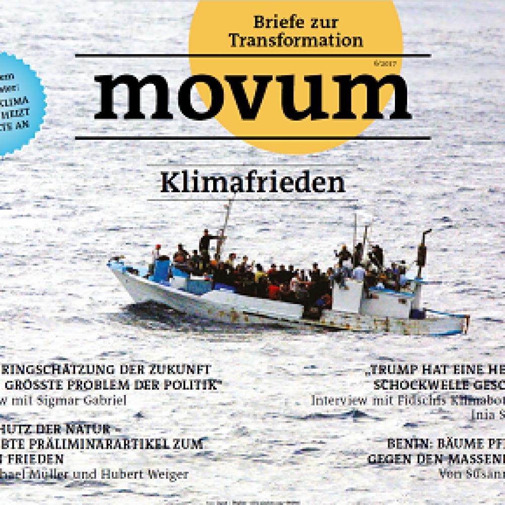 movum – Briefe zur Transformation, Heft 16, Klimafrieden