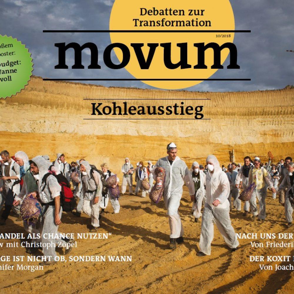 movum – Debatten zur Transformation, Heft 20, Kohleausstieg