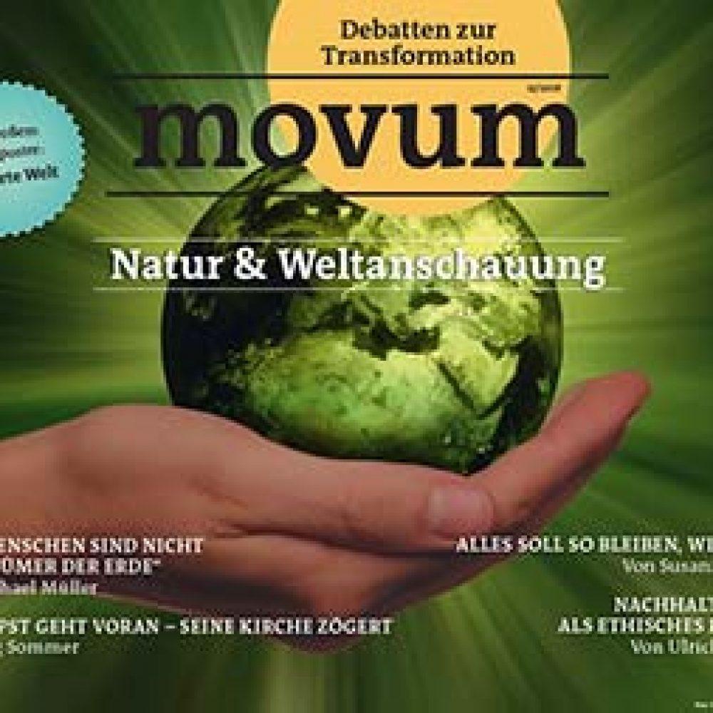 movum – Debatten zur Transformation, Heft 22, Natur & Weltanschauung