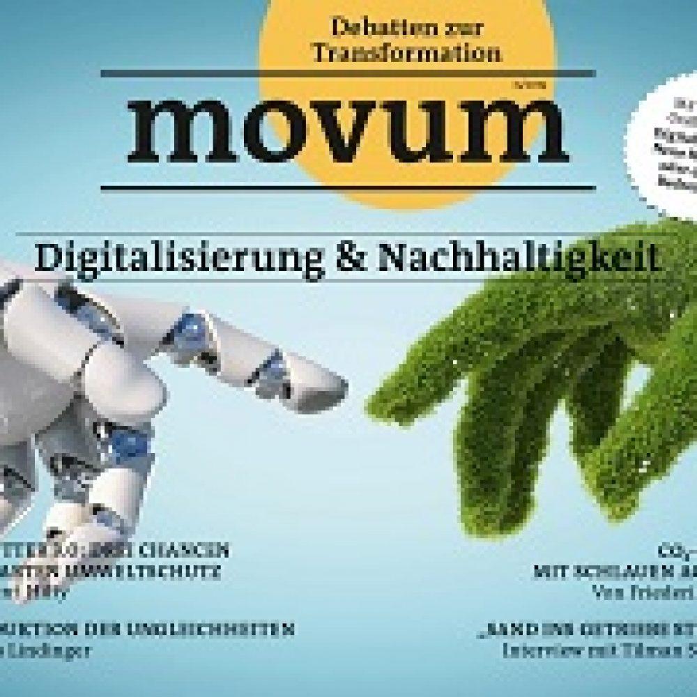movum – Debatten zur Transformation, Heft 25, Digitalisierung & Nachhaltigkeit
